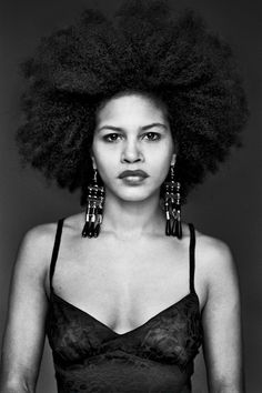 Delphine Diallo,  so freaking fabulous and fierce; afrolicious...