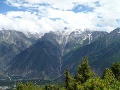 Beautiful mountains in India