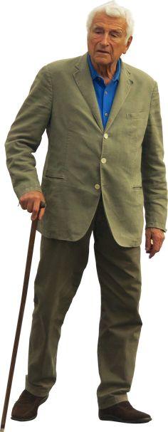 Dit is Abraham. Hij is een oude jood. Nadat de meester zijn vrouw heeft vermoordt besloot hij om er zijn levenswerk van te maken om de meester te doden.