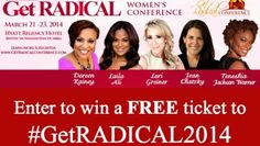 It's a RADICAL Giveaway – Two FREE Tickets to #getRADICAL2014