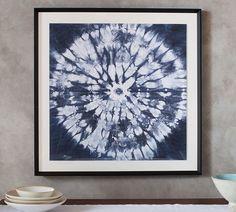 Shibori Circle Print