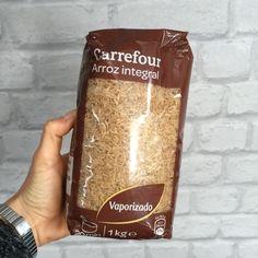 Supermercado: Carrefour Producto: Arroz integral vaporizado Tipo de alimento: HC