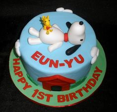 snoopy birthday cakes - Google Search