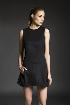 Veera Wool Dress | UNEINS | NOT JUST A LABEL