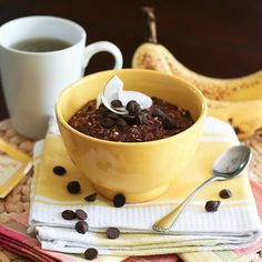 Chocolate and Banana Overnight Oats-3 by Sonia! The Healthy Foodie, via Flickr