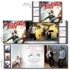 love this!!  ~  Unique Wedding Invitations  30 Offset Gatefold  https://www.beautifulweddingannouncements.com/?s=unique