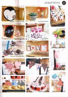 Chá de Lingerie Pin Up utilizando papéis Pin Up E&C Company Criação: Andressa Betinassi para Revista Álbuns Decorados - Ed. Minuano Março 2015