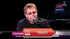 Elton John cancela show en Alemania por G Imagen Noticias con Yuriria Sierra  El cantante no obtuvo el permiso para que su avin aterrizara en el lugar y tuvo que cancelar su concierto Seguramen