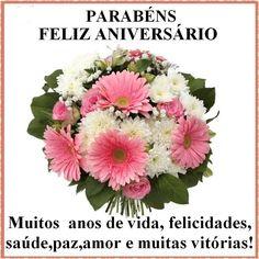 Mensagens com Flores | Parabéns, Feliz Aniversário!!! #felicidades…