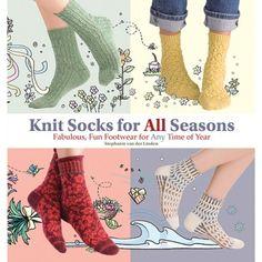 Фото из альбома «Stephanie van der Linden Knit Socks For All Seasons: Fabulous, Fun Footwear for Any Time of Year Knitting Books, Crochet Books, Knitting Videos, Knitting Yarn, Free Knitting, Knitting Patterns, Knit Crochet, Unique Socks, Knitting Magazine