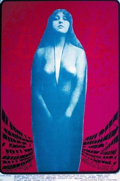 Alton Kelly (Mouse Studios), 1967, San Francisco Dance Concert Poster