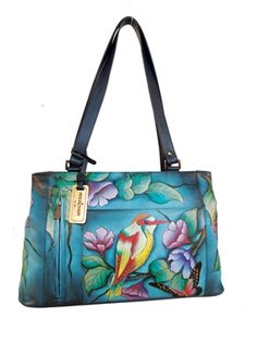NEW design! Already a waiting list - ORDER your new hand painted Anuschka bag today!