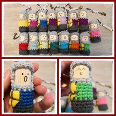 Crochet knight - patterns for free Crochet Pattern Free, Crochet Patterns, Survival Set, Party, Projects, Blog, Knights, Link, Tutorials