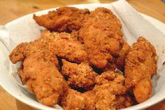 La Almendra meloso: sin gluten Tiras de pollo (KFC estilo!)