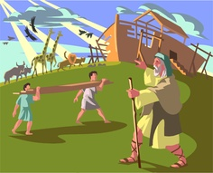 Great kids story about Noah and the Ark - Why was he chosen?