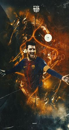بارسلونا Messi And Ronaldo, Messi 10, Neymar, French Football Players, Germany Football Team, Lionel Messi Wallpapers, Leonel Messi, Messi Soccer, Skull Wallpaper