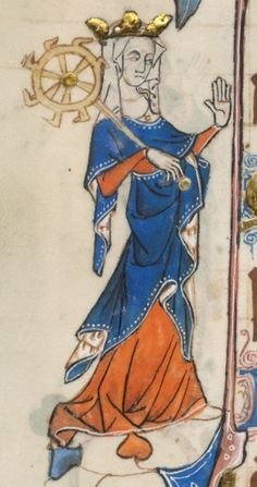 Fol 30v. The Luttrell Psalter. 1325-1340. Lincolnshire, England.