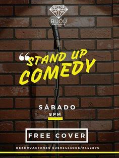 ambarterrasselounge¡Este sábado tenemos un stand up comedy! los esperamos para reír sin parar a las 8pm *FREE COVER* sólo debes llamar y reservar  #ambarterrazalounge #quartzroserestaurante #PuntoFijo #IgersPuntoFijo #StandUp #Comedia #Eventos