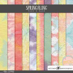Springaling: Tied & Dyed