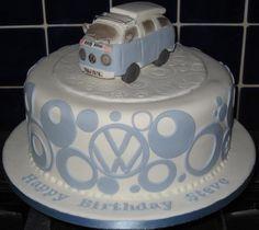 fondant cake for the VW enthusiast