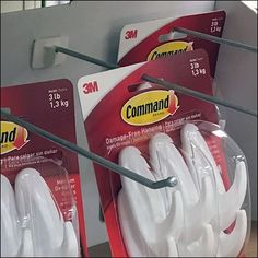 Interesting that Command Strips deploy point-of-purchase displays that utilize a non-Command-Strip Attached-Back Hook. Point Of Purchase, Command Strips, Hooks, Retail, Point Of Sale, Wall Hooks, Sleeve, Cash Register, Crocheting