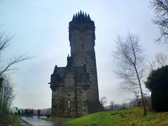 The William Wallace Monument was like walking through a real castle.