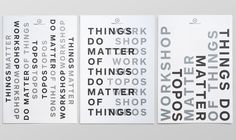 Matter of things on Behance