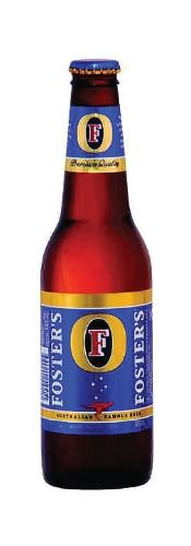 Foster's Lager - Fosters, Beer.  Need I say more?  Love buying the oil can on the way home from work.