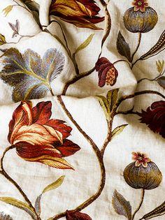 Beautiful fabric.