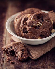 Čokoládové cookies bez tuku
