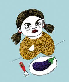 Bianca Tschaikner- I despised Egg Plant as a child.