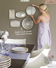 renovate + decorate: decorating with plates