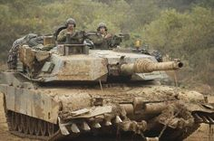 getting dirty (our tanks aren't just for parades) : MilitaryPorn M1 Abrams, Military Modelling, Battle Tank, Military Photos, Armored Vehicles, Tamiya, Usmc, Panzer, Scale Models