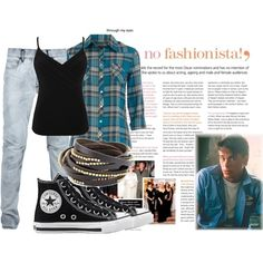 Sodapop Curtis the outsiders. Cute outfit. Everything EXCEPT the bracelets.>> I like this outfit no idea who the guy is tho
