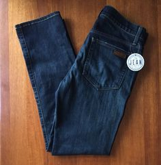 Joe's Jeans Mens Blue Denim Sz 31 Authentic Straight + Narrow in Marjerra EUC #JoesJeans #Relaxed