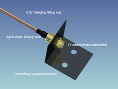 welding rod antenna wifi accelerater
