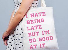 NO WAY No Way, Reusable Tote Bags, Fashion, Moda, Fashion Styles, Fasion