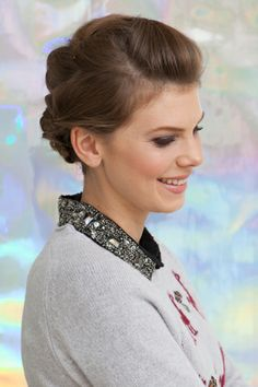 The Three-Way Braid  This woven look may appear complicated. But, worry not — all you need is basic braiding skills to make this style happen.