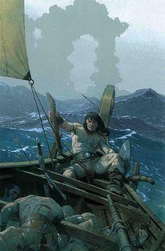 Illustrations, Illustration Art, Robert E Howard, Savage Worlds, Ligne Claire, Bd Comics, Marvel Comics, Conan The Barbarian, Sword And Sorcery