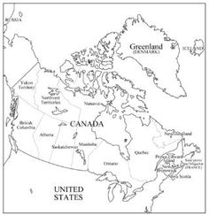 Canada Outline Maps Cc Cycle 1 Weeks 21 22
