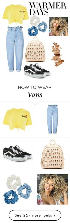 """Spring"" by mantwi2007 on Polyvore featuring Miss Selfridge, Topshop, Vans, MCM, Mudd, Laura Mercier and springdresses"
