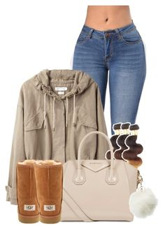 """""""Untitled #2885"""" by alisha-caprise ❤ liked on Polyvore featuring Étoile Isabel Marant, UGG Australia, Givenchy and Charlotte Russe"""