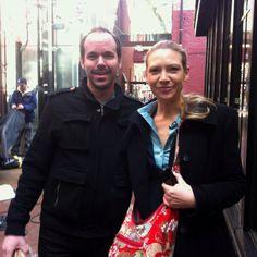 Me & Anna Torv from Fringe, Nov 2011 Vancouver, Gastown