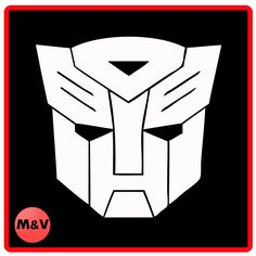 Transformers Autobot logo Sticker X2, laptop/xbox/ps4