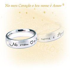 No meu Coração o teu nome é Amor® (aliança)