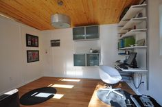 Modern Kanga Studio Office: A Gorgeous 12x14Workspace - Kanga Room Systems: Models Gallery - Backyard Office-Guest House-Pool House-Art Studio-Garden Shed-Tiny House Modern and Tradtional Cottage prefab kits