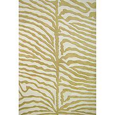 Hand-tufted Safari Zebra Wool Rug (5' x 8')
