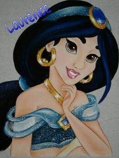 Beautiful and sparkling Princess Jasmine