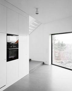 Architecture | Black House Tumle  #architecture #sweden #johannesnorlander #black #white