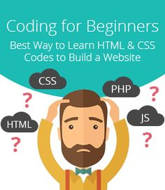 Coding for Beginners - Best Way to Learn HTML & CSS Codes